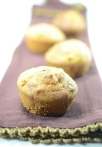 Orange, Pineapple and Walnut Muffins