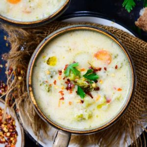 strikes for an early evening meal or even brunch. Here is how to make Vegetable Chowder Recipe.