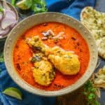 Coconut Curry Chicken is a creamy Indian curry dish made using chicken pieces, coconut milk and spices. Do try this Indian chicken curry recipe with naan or steamed rice for a delectable meal.