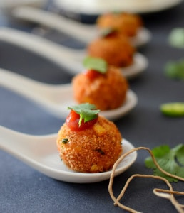 Corn and Cheese Balls are a yummy snack to pair with a hot cup of tea or coffee. Bond with friends and family with this yummy snack.