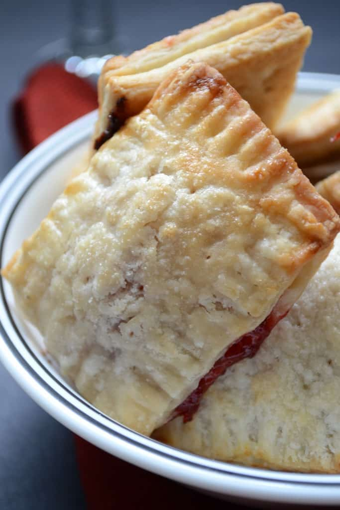Strawberry hand pie