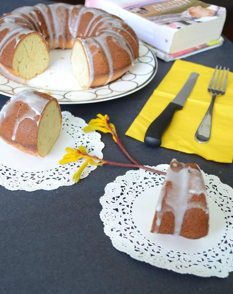 Whipped Cream Cake with Rum Glaze