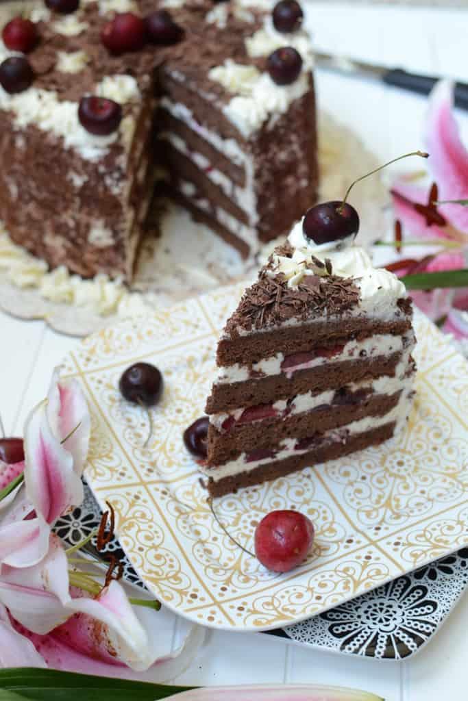 Black Forest Gateau Recipe Black Forest Cake Recipe Whisk Affair