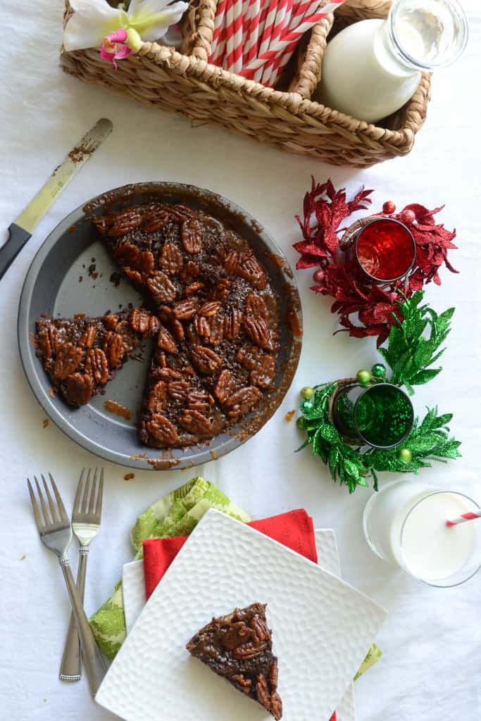 Pecan Pie Brownie