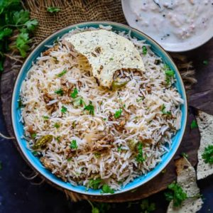Punjabi Wadi Chawal is a rice dish that is well flavored and prepared just like any pulao or biryani but with addition of spicy dal wadi. It is also very healthy and nutritious. Here is how to make Wadi Chawal Recipe.