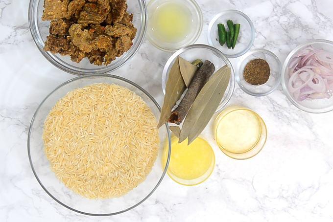 Wadi chawal ingredients