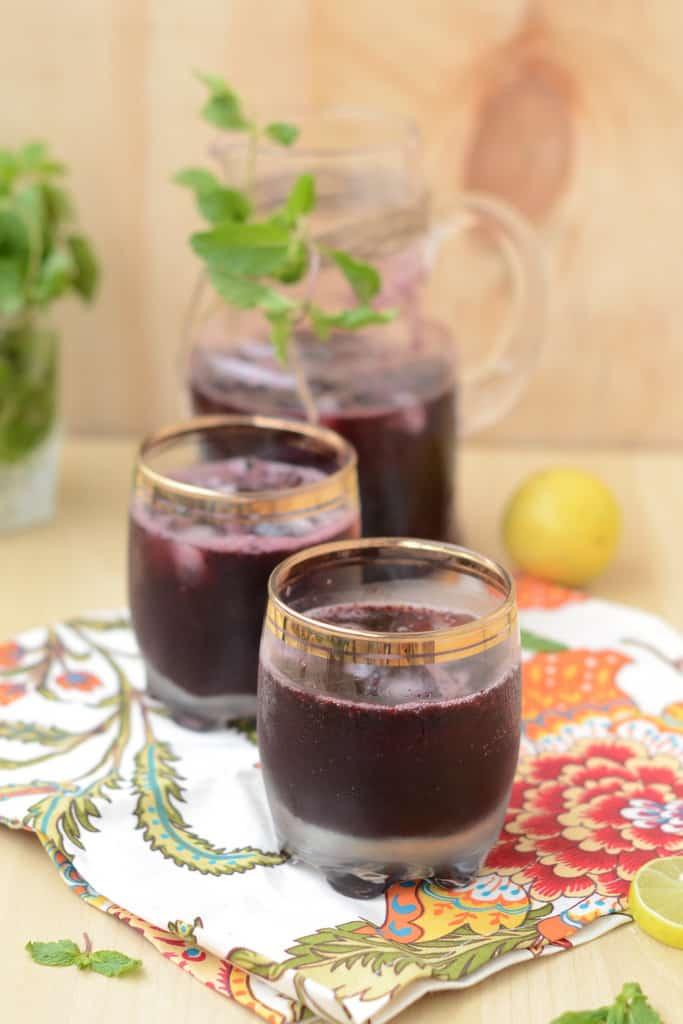 Mulberry Lemonade