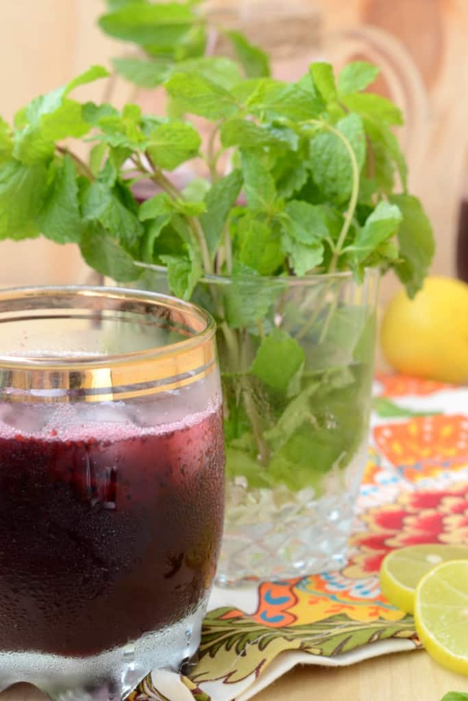 Mulberry Lemonade is a very refreshing drink perfect for the summer. Made using fresh mulberries, this drink will chill you down.