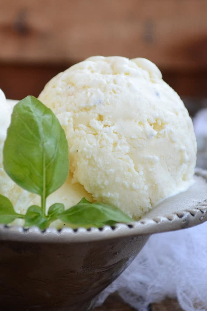 Vanilla Bean Ice Cream is super easy to make at home and yields a rich and creamy ice cream. It can be enjoyed with brownies.