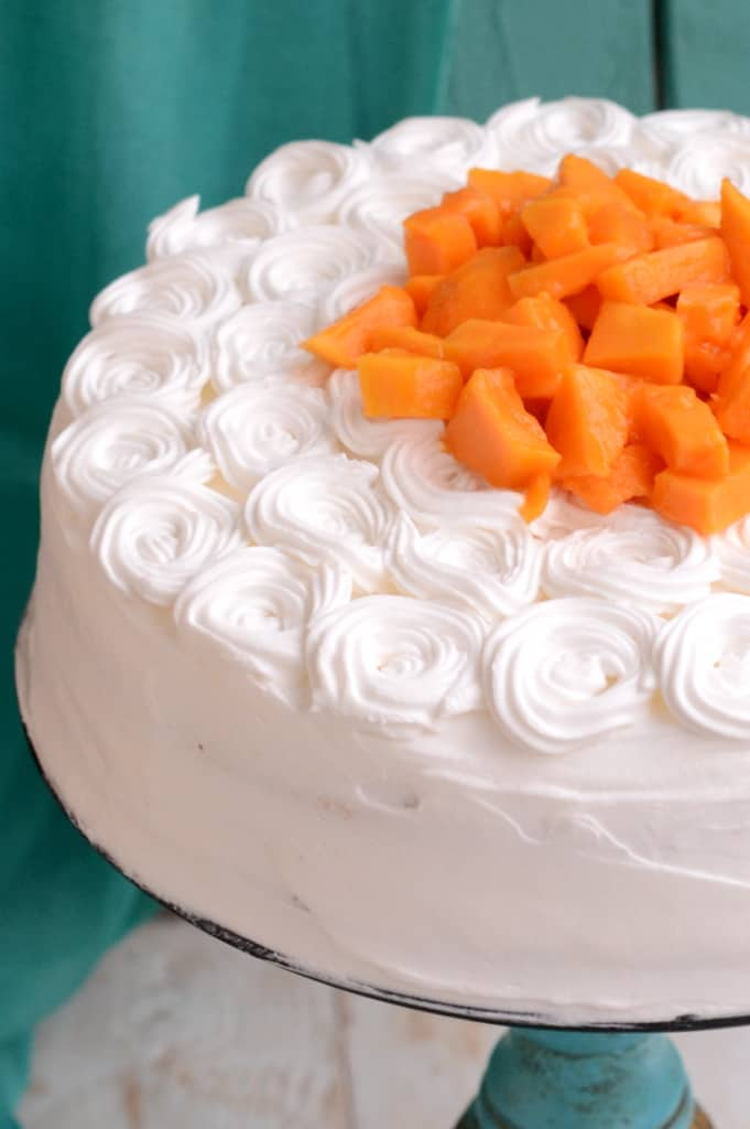 Mango Cream Gateau is a spongy cake made using the king of fruits and tons of love.
