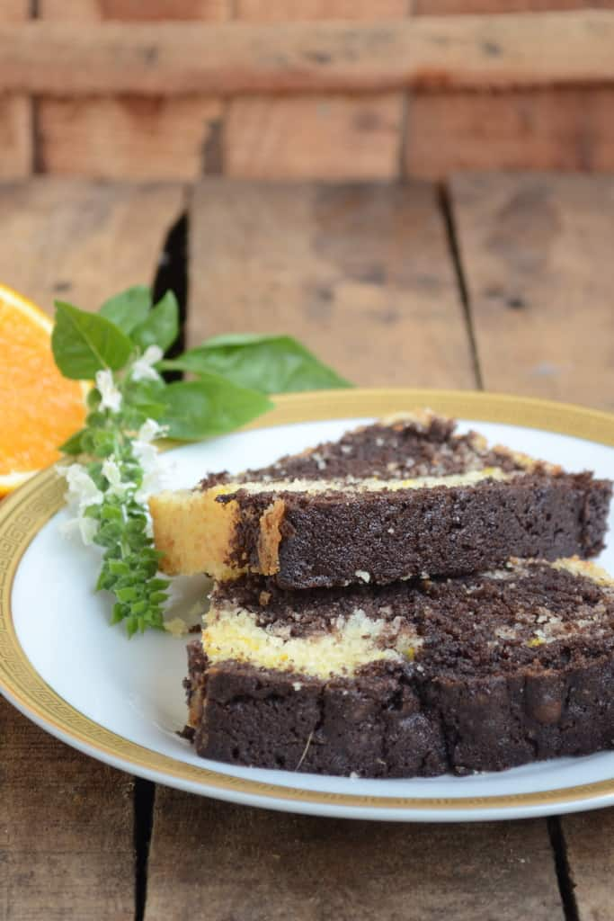 This Chocolate Orange Marble Loaf Cake is a soft and moist cake with perfectly balanced flavors. Here is the recipe to make it.