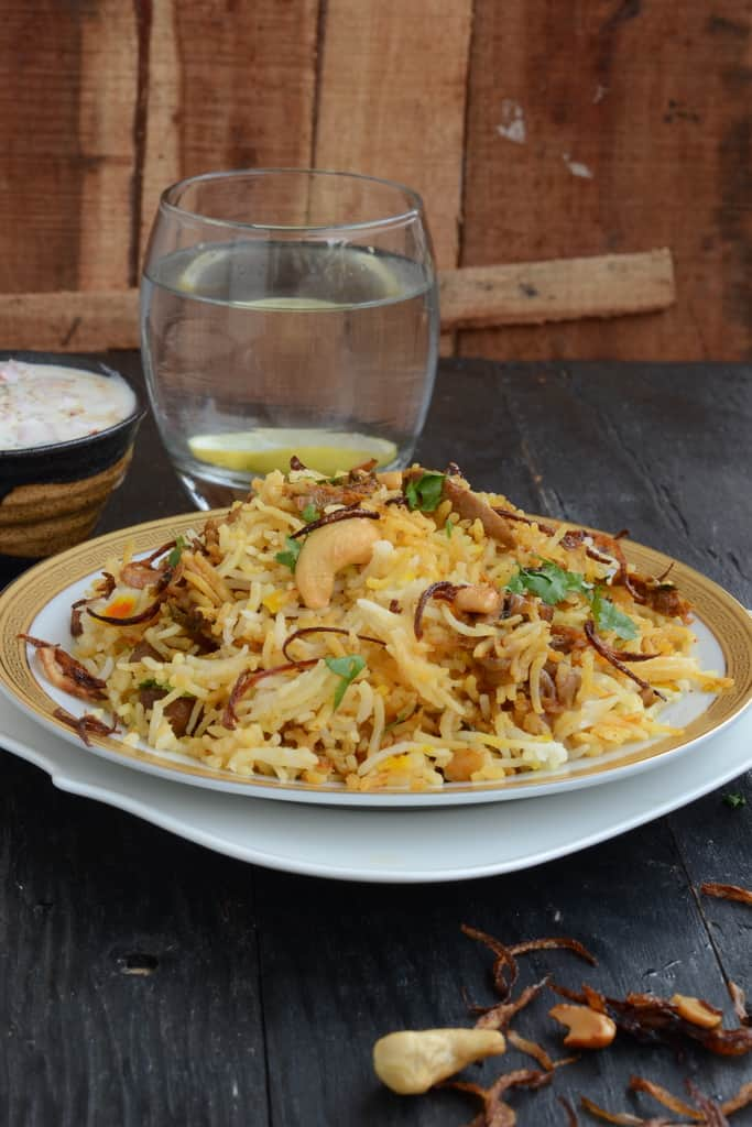 Shahi Mushroom Biryani is a delicious and flavorful variation of biryani. Try this traditional and authentic recipe to make it.
