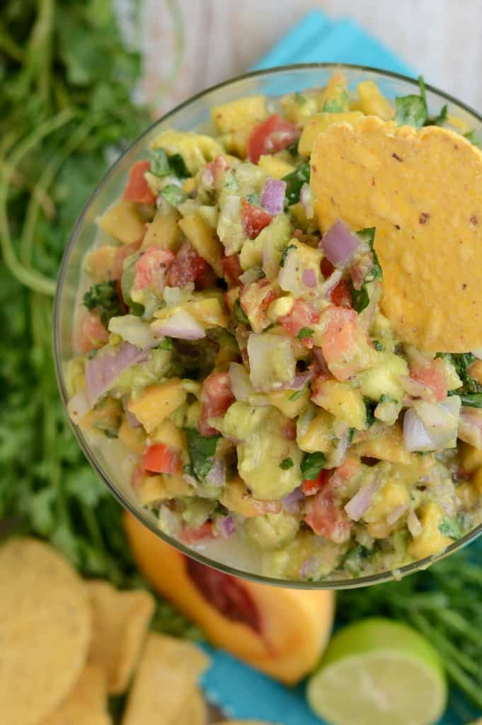 Avocado and Peach Salsa
