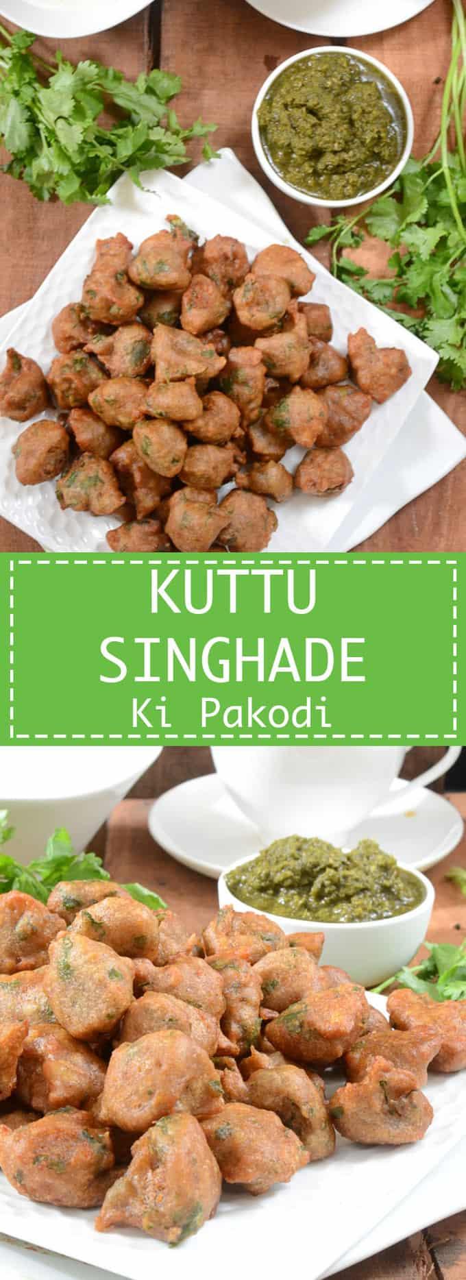 Kuttu Singhade Ki Pakodi