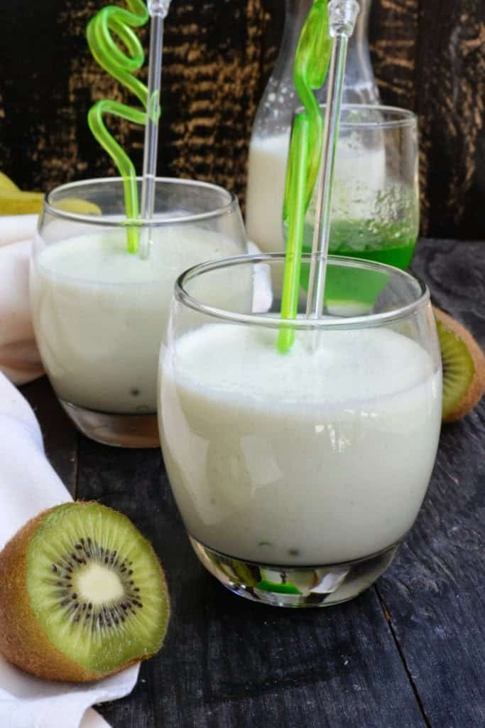 Banana and Kiwi Shake Recipe