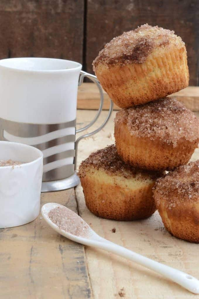 French Breakfast Muffins Recipe, How to make French Breakfast Muffins ...