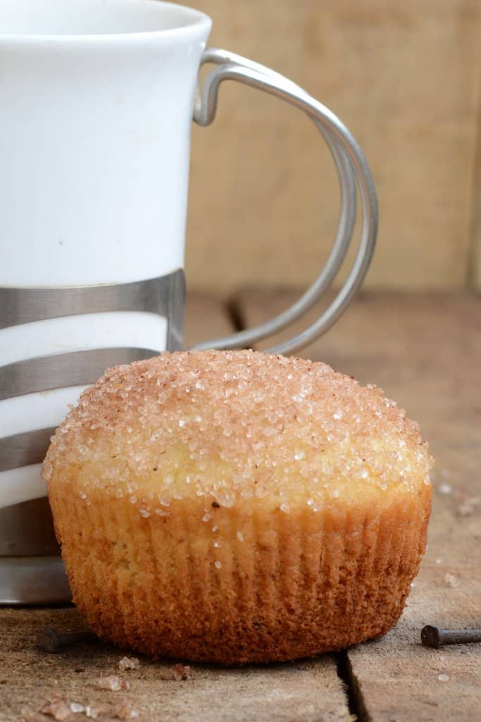 French Breakfast Muffins are soft and moist and cinnamon'y'The crunch from the sugar topping gives these muffins a new dimension.
