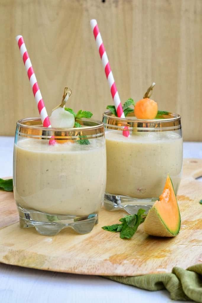 This Cucumber Melon Smoothie brings together essential and key ingredients that pair beautifully together to create this delicious drink.