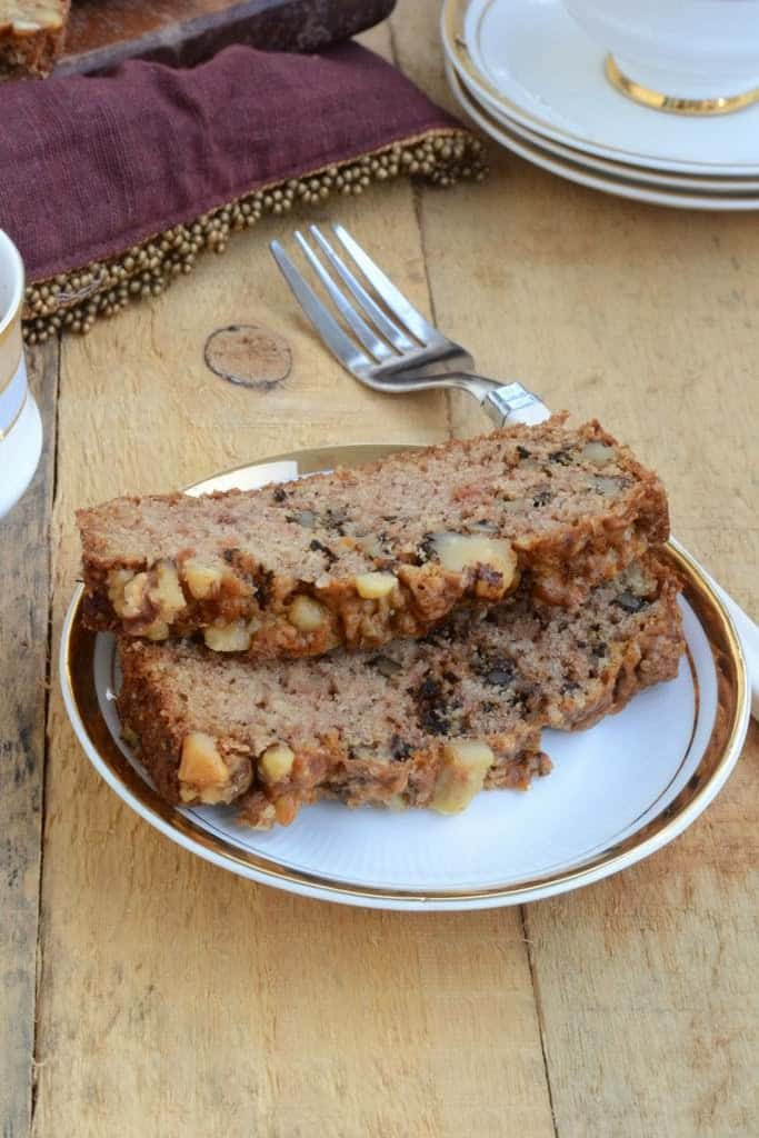 Apple and Walnut Loaf Cake is a delicious soft and moist cake with the goodness of apple and walnuts. It is perfect to enjoy with tea and coffee