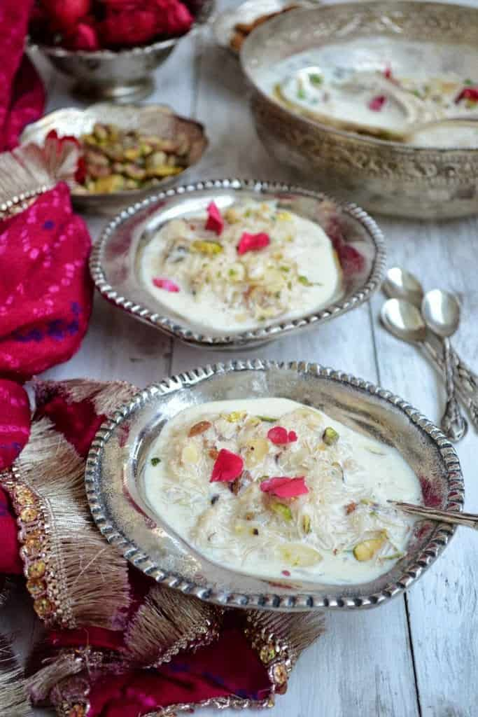 Sevai Ki Kheer is a creamy, thick sweet dish made of sevai which always takes me back to my childhood. Here is how to make it.