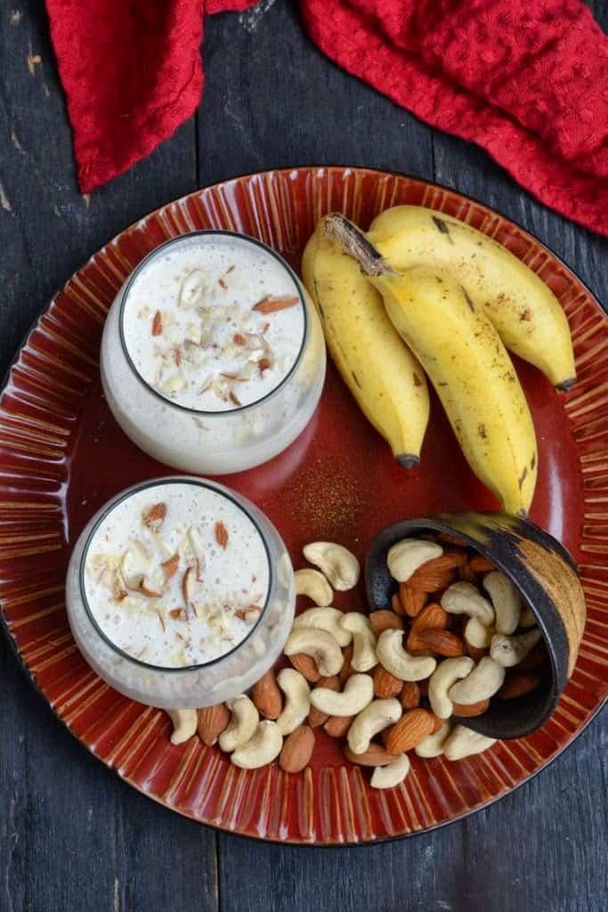 Banana Nuts Shake