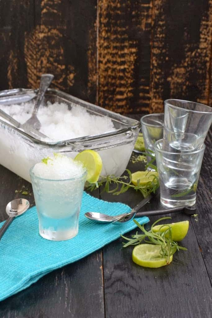Lemon and Rosemary Granita Recipe