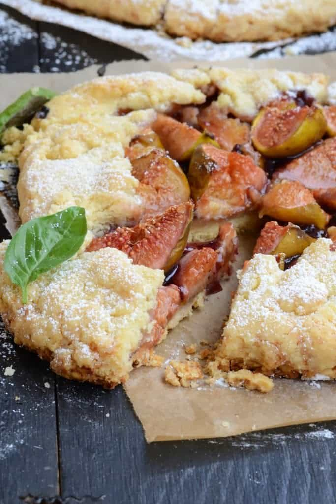 Fig Blueberry Galette