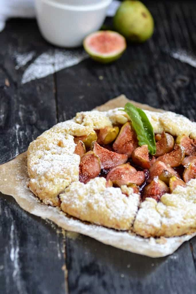 Fig Blueberry Galette Recipe, How to make Fig Blueberry Galette