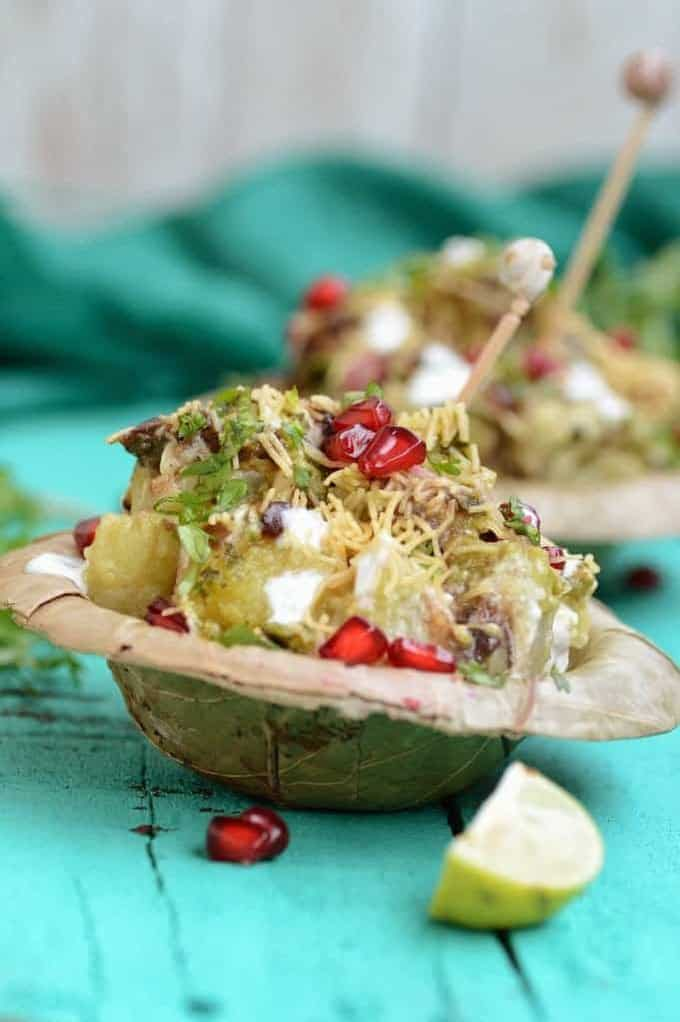 Here is a collection of best Indian Home made chaat recipes which can be easily made at home and the result is perfect, just like your street chaat wala. Chatpati Shakarkandi is a delicious Indian street food made using sweet potatoes. Sweet potatoes are fried till golden brown and then topped with chutneys.