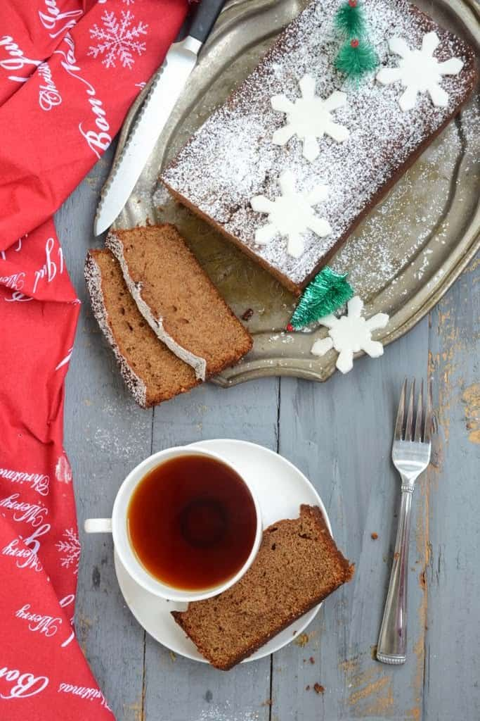 The traditional Ginger Bread Loaf Cake for me is synonymous with happiness. Moist, spicy with the very flavor of the Christmas, this is a must make.