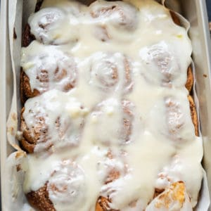 Make these delicious Cinnabon Style Cinnamon Rolls at home and impress your loved ones. These are fluffy, soft and super yumm and freeze well. Here is the quick recipe with lot's of variations.