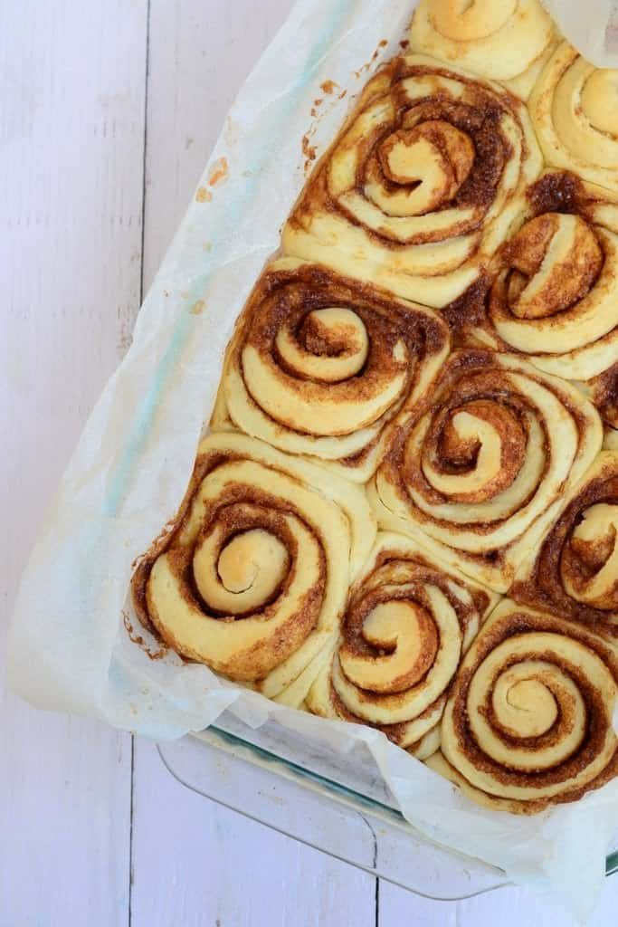 Cinnabon style Cinnamon Rolls with Cream Cheese Frosting are tender rolls which are full of cream cheese frosting.