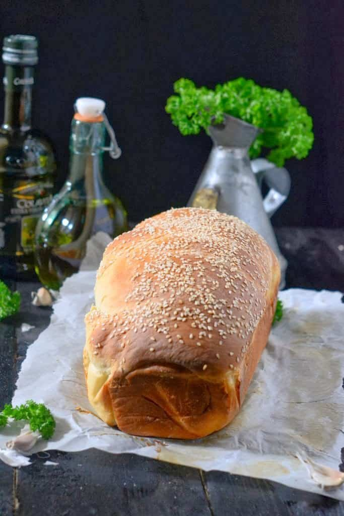 Mediterranean Flavored Spiral Bread Recipe