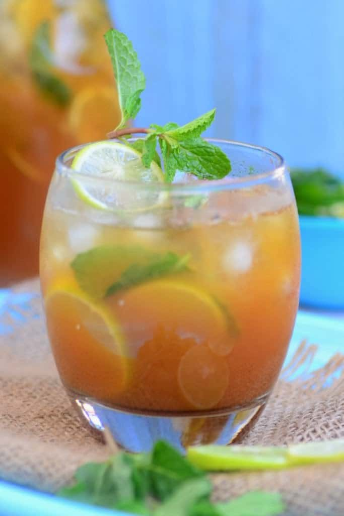 Passion Fruit Iced Tea recipe, How to make Passion Fruit Iced Tea