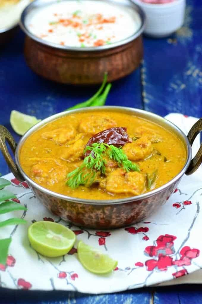 Prawns-in-coconut-milk-curry
