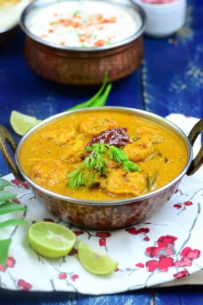 Prawns in Coconut Milk Curry