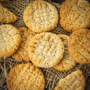 These crunchy eggless peanut butter cookies are super easy to make at home. Make these to serve with tea or coffee.