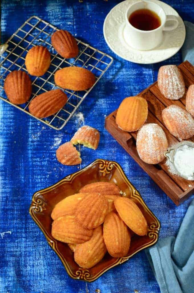Honey Vanilla Madeleines Recipe