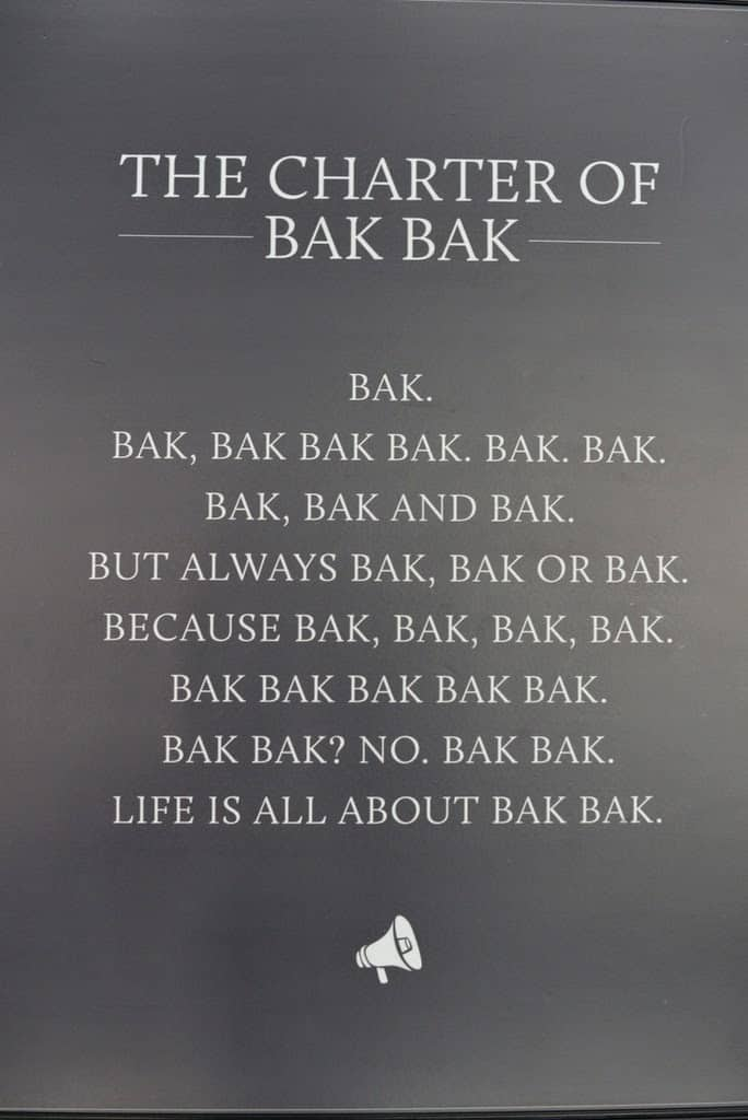 Bak Bak Bar, Koramangala, Bangalore
