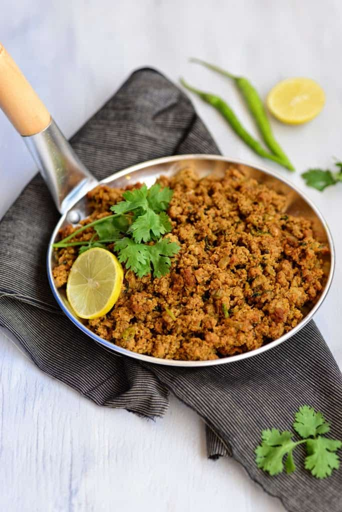 Minced Lamb used for Keema Naan
