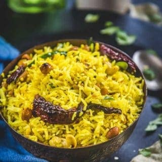 South Indian Lemon Rice + Video
