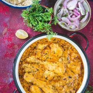 Malai Chicken Curry (Murgh Malaiwala)