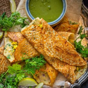 Moong Dal Chilla also called as Pudla or Puda is a healthy and delicious lentil recipe which can be made for breakfast or snacks. Here is how to make Moong Dal Chilla Recipe.