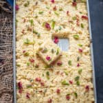Kalakand is a scrumptious, rich sweet dish that is a staple in most Indian homes, particularly in the North. The texture and taste of this homemade recipe are very similar to the one you get in the mithai shops and is very easy to make as well. Check out the recipe.