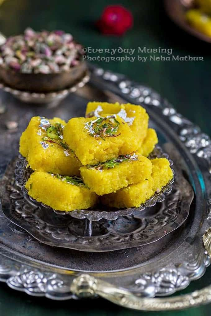 Nariyal ki Barfi or coconut fudge is a delicious, easy to make Indian dessert or Sweet recipe. Here is a tried and tested recipe to make it.
