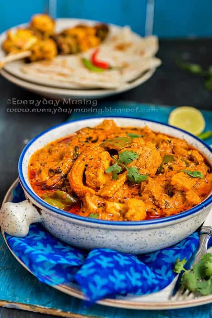 Veg Tikka Masala, a curry made using grilled vegetables is sure to impress you. Here is a tried and tested recipe and you must definitely try it!