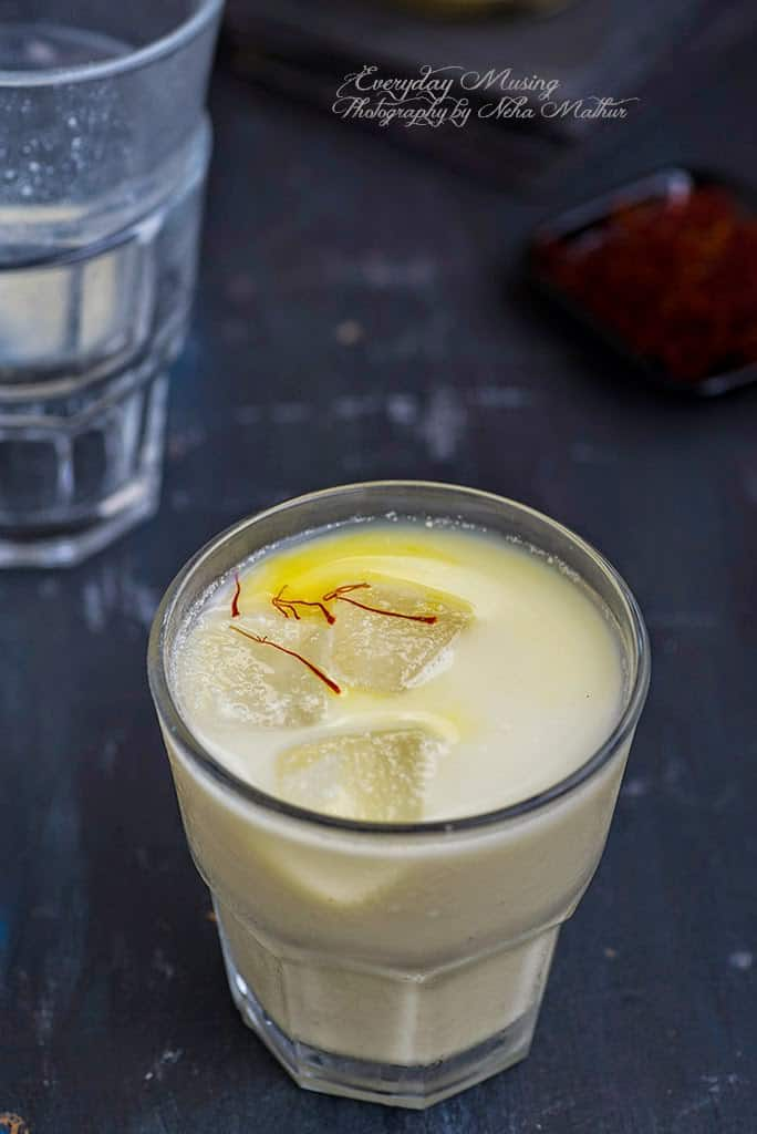 Badam Ka Sharbat / Refreshing Sherbet made with Almonds