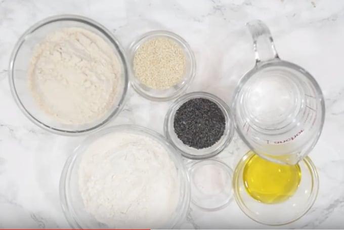 Lavash Crackers ingredients