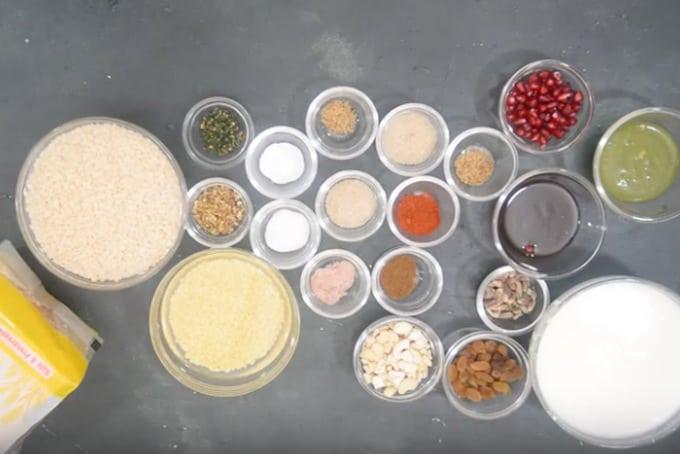 Bread Dahi Vada ingredients