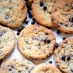 These Chocolate Chip Cookies are crispy chewy cookies loaded with chocolate chips. Try this easy  recipe to make perfect bakery style choco chip cookies from scratch at home. Here is how to make Chocolate Chip Cookies Recipe.